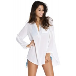 Bodyfriend Style White Beach Shirt